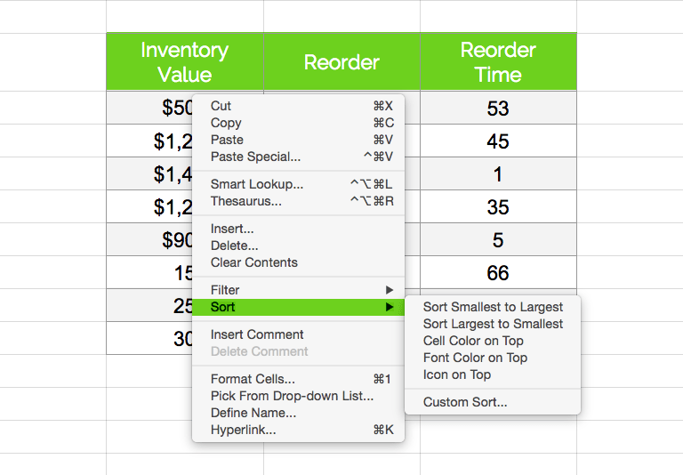 Inventory Tracker Free Template Spreadsheet For Excel Tradegecko