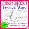 15+ Library Checkout Sheet