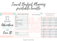 21+ Vacation Expense Planner