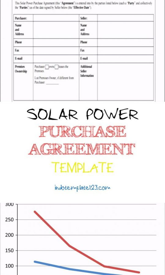 Permalink to Solar Power Purchase Agreement Template